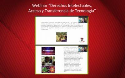 """Seminario """"Derechos Intelectuales, Acceso y Transferencia de Tecnología"""""""