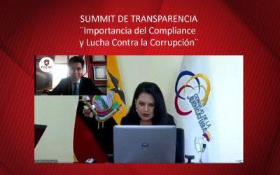 SUMMIT DE TRANSPARENCIA ¨Importancia del Compliance y Lucha Contra la Corrupción¨