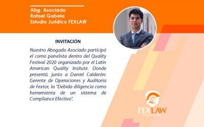 Invitación por el Latin American Quality Insitute