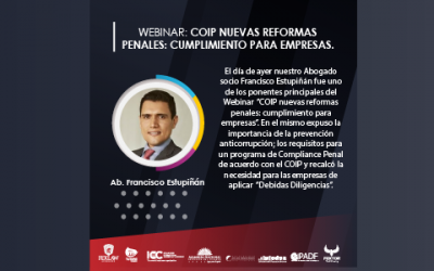 COIP New Criminal Reforms: Compliance for Companies
