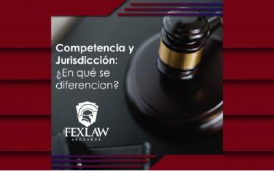 ¿Sabes en qué se diferencian la Competencia y la Jurisdicción?