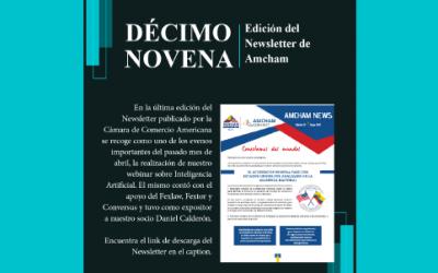 19na Edición del Newsletter de Amcham