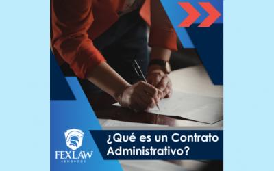 ¡Conoce sobre los contratos administrativos!