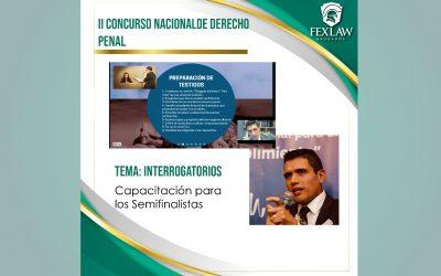 ll Concurso Nacional de Derecho Penal