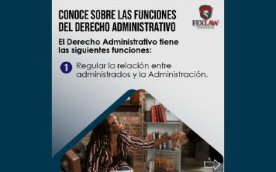 Funciones del Derecho Administrativo