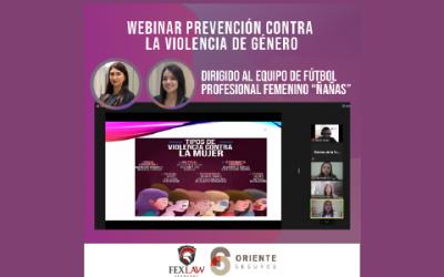 """Webinar """"Prevention against gender violence"""""""