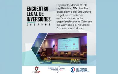Encuentro Legal Inversiones Ecuador